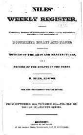 Niles' Weekly Register: Volume 45