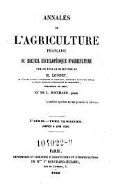 Annales de l'agriculture francoise. Red. par ... Tessier: Volume3;Volume5