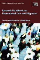 Research Handbook on International Law and Migration PDF