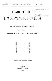 O Arqueólogo português: Volume11