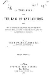 The Law of Extradition (1866).