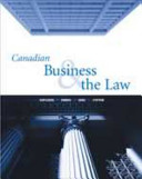 Download Canadian Business and the Law Book