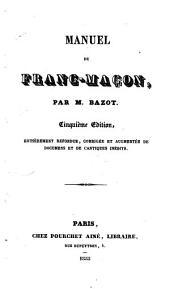 Manuel du franc-maçon