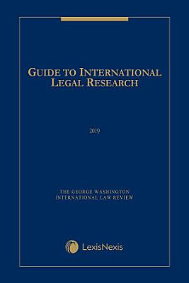 Guide to International Legal Research PDF