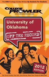 University of Oklahoma 2012
