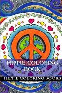 Hippie Coloring Book Book