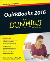 Quickbooks 2016 For Dummies Book PDF