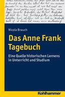 Holocaust im Unterricht  Das Tagebuch der Anne Frank PDF