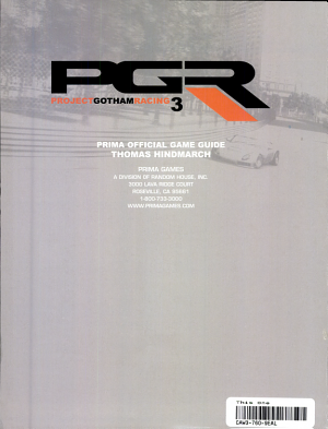 Project Gotham Racing 3 PDF