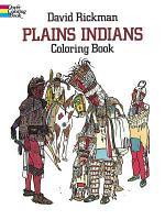 Plains Indians Coloring Book PDF