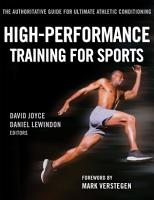 High Performance Training for Sports PDF
