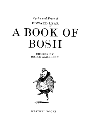 A Book of Bosh