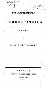 Pharmacopoea homoeopathica auctore Dr. Caspario