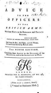 Advice to the Officers of the British Army ... The sixth edition. By John Williamson, also attributed to F. Grose