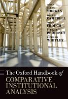 The Oxford Handbook of Comparative Institutional Analysis PDF