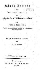 Jahres-Bericht über die Fortschritte der Chemie: Bände 11-13
