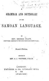 A Grammar and Dictionary of the Samoan Language