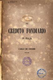 Del Credito Fondiario in Italia di Carlo de Cesare