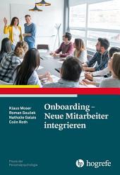 Onboarding – Neue Mitarbeiter integrieren