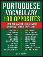 Portuguese Vocabulary - 100 Opposites