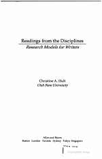 Readings from the Disciplines