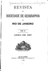 Revista da Sociedade de Geographia do Rio de Janeiro: Volume 3