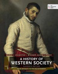 A History Of Western Society Volume I Book PDF