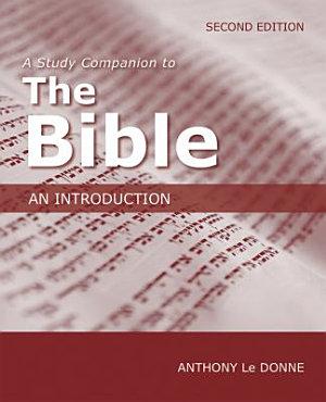 A Study Companion to The Bible PDF
