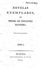 Novelas Exemplares: Volume 1