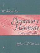 Workbook For Elementary Harmony Book PDF