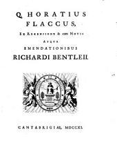 Q. Horatius Flaccus: Volume 1
