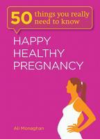 Happy  Healthy Pregnancy PDF