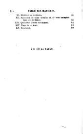 Oeuvres de l'abbé Fleury: Volume1