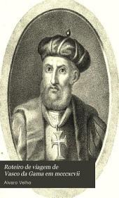 Roteiro de viagem de Vasco da Gama em mcccxcvii