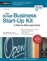 The Small Business Start Up Kit PDF