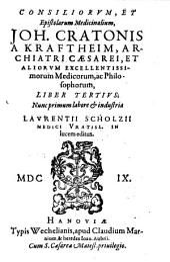 Consilia [et] Epistolae Medicinales: Volume 3