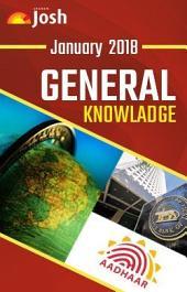 General Knowledge January 2018 eBook