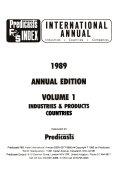 Predicasts F   S Index International Annual PDF