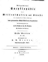 Allgemeine Encyklopädie der Wissenschaften und Künste: in alphabetischer Folge. ¬Section ¬1, A - G ; Theil 28, Drus - Dziewonna. 1,28