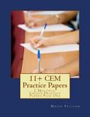 11  Practice Papers   CEM