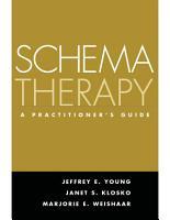 Schema Therapy PDF