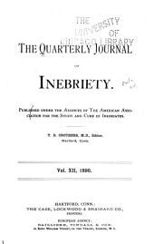 The Journal of Inebriety: Volume 12