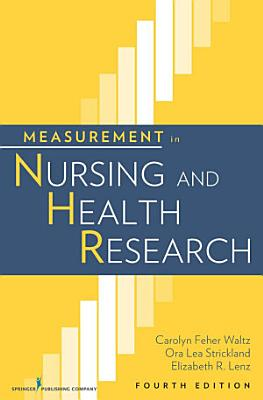 Measurement in Nursing and Health Research