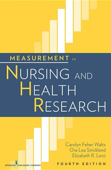Measurement in Nursing and Health Research PDF