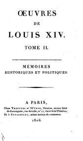 Oeuvres de Louis XIV.