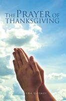 The Prayer Of Thanksgiving PDF
