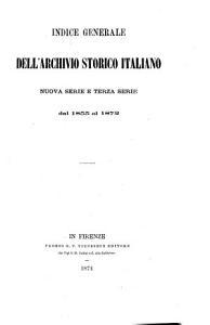 Archivio storico italiano PDF
