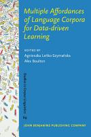 Multiple Affordances of Language Corpora for Data driven Learning PDF