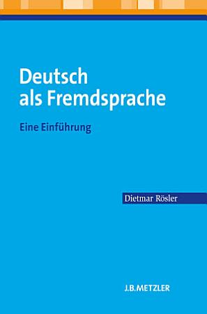 Deutsch als Fremdsprache PDF