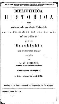 Bibliotheca historica PDF